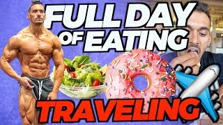 WHAT I EAT IN A DAY TRAVELING (Every Meal Shown)