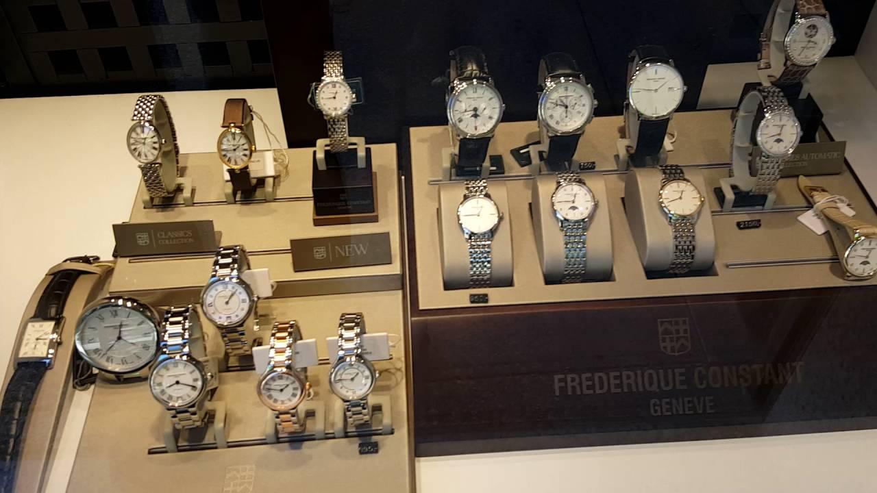 51ae87d24f8 Preços dos Relógios Frederique Constant na Europa (em Euros) - YouTube