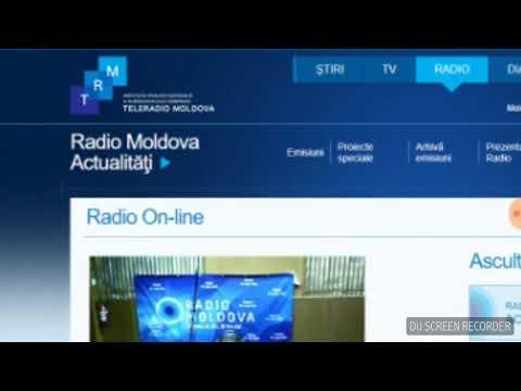 ZIUA LIMBII ROMÂNE la Rezina - Difuzat la Radio Moldova