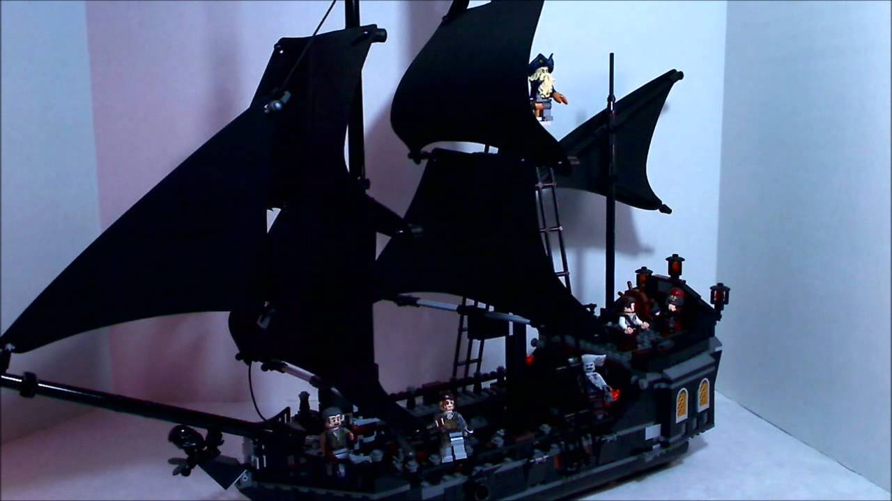 Lego Pirates of The Caribbean The Black Pearl Review - YouTube