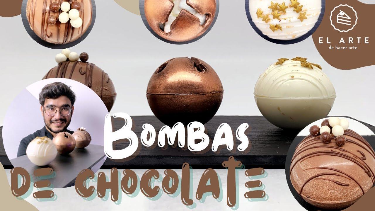Bombas de chocolate (Hot chocolate bombs)  - El arte de hacer arte