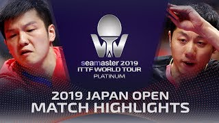 Fan Zhendong vs Xu Xin | 2019 ITTF Japan Open Highlights (1/2)