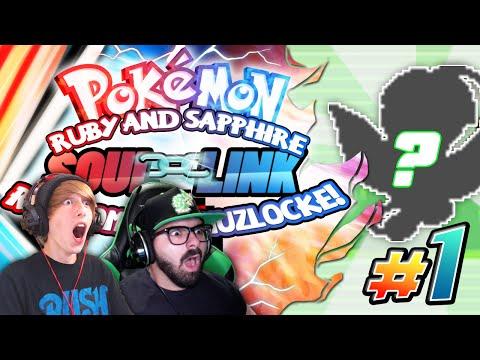 "Pokemon Ruby & Sapphire Soul Link Randomized Nuzlocke W/ Astroid EP 01 - ""UNLUCKY HOUR OF POWER!"""