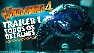 VINGADORES 4 - ULTIMATO | TRAILER - DETALHES - CURIOSIDADES - REVIEW - Jujuba ATÔMICA