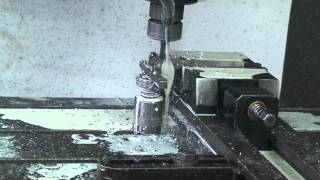 drilling hss co 62 64 hrc with 9 5 mm hm drill