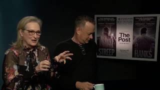 Sarina Bellissimo interviews Meryl Streep & Tom Hanks (