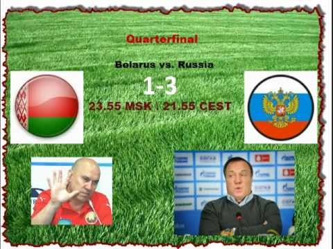 1/4 Country Championship. Belarus - Russia