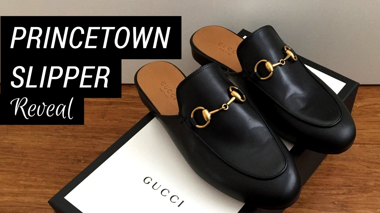 1bca8202244 Gucci Princetown Slipper Reveal - YouTube