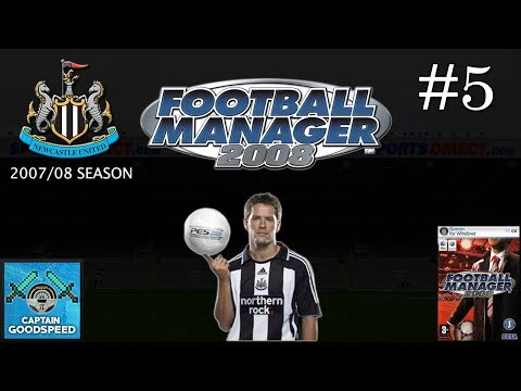 Let's Play Football Manager 2008 | Newcastle United S01 E05: TITLE PUSH? | FM08