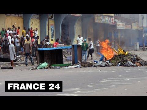DR CONGO - Violence rocks Kinshasa amid fears of Kabila power grab