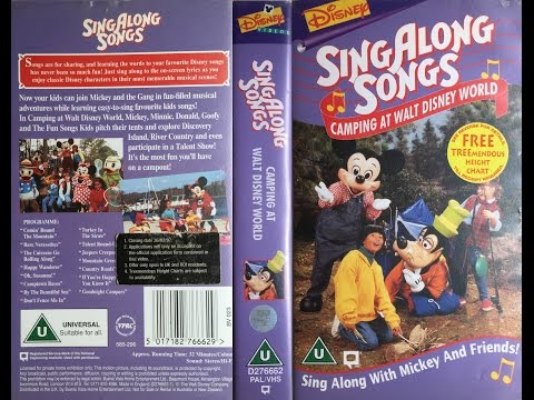 Mickey's Fun Songs - Camping at Walt Disney World [VHS] (1996)