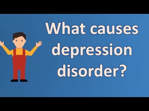 What causes depression disorder ? | Mega Health Channel & Answers