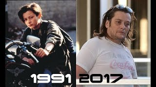 Terminator 2: judgement day cast THEN and NOW