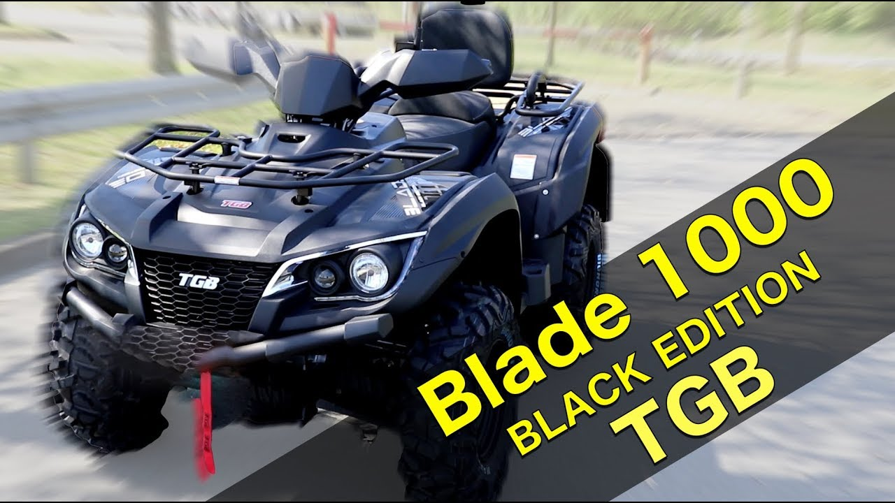 tgb blade 1000 black edition test toxiqtime youtube. Black Bedroom Furniture Sets. Home Design Ideas
