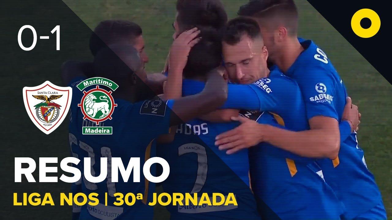 Санта-Клара  0-1  Маритиму видео