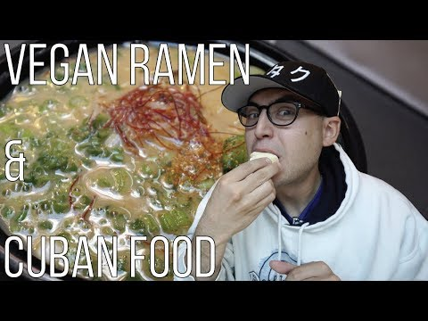 LOS ANGELES FOOD ADVENTURE | Ramen Hood VEGAN RAMEN & CUBAN PASTRIES