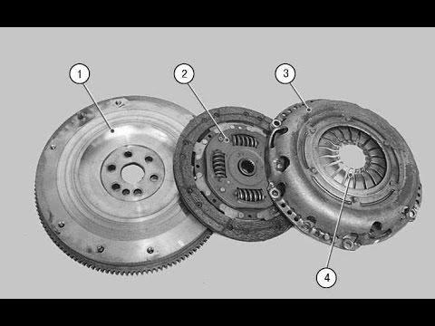 сцепление / Ford Fusion