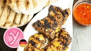 Saftige Bbq Grill HÄhnchenschenkel Mit Leckerer Asiatischer Marinade - Grillrezept