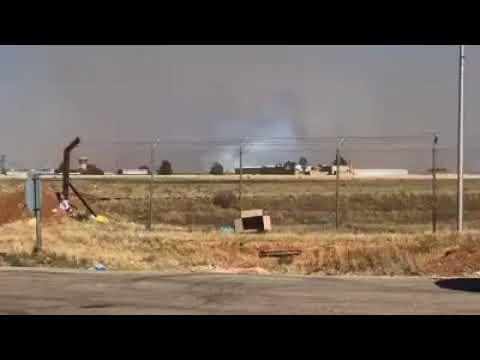 Daraa : Syrian-Jordanian Borders After the Liberation of Nasib Border Crossing