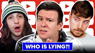 TOXIC! This MrBeast NY Times Scandal is Nasty, Dogecoin, Peloton Recall, Facebook Ban, & More News