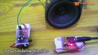 Truyền Âm Thanh Không Dây Đơn Giản Qua Sóng Hồng Ngoại || Audio Wireless By IR