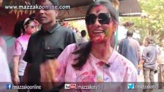 Mazzako Holi Guff with Melina Manandhar || Holi 2072 || Mazzako TV