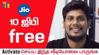 Baixar Jio Free Hidden Offer | 10GB | Tamil Today