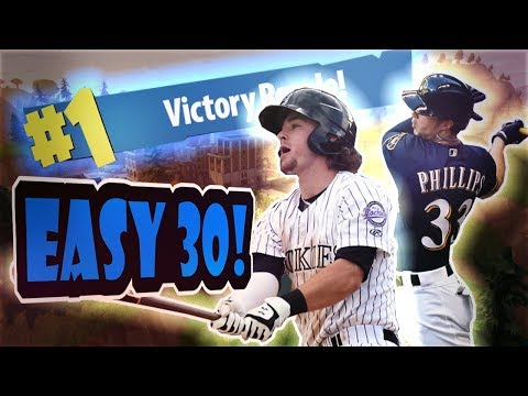 INSANE 30 ELIMINATIONS WITH MLB PLAYERS! | FORTNITE BATTLE ROYALE VICTORY ROYALE