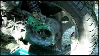 Как разобрать, отремонтировать, заменить, собрать редуктор скутера Honda