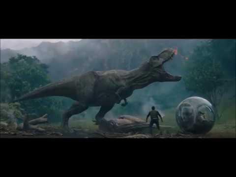 Jurassic World T Rex Funny Roar Compilation