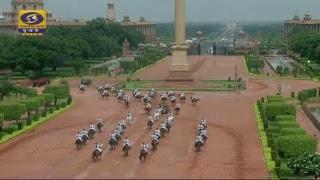 Swearing-in-Ceremony of Hon'ble President of India Ram Nath Kovind