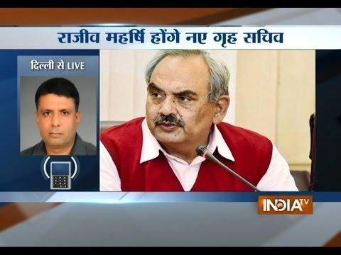 Senior IAS officer Rajiv Mehrishi Took Over As New Home Secretary - India TV