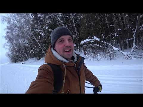 Лыжный поход  Протвино — Кременки. Водопад Калужская Ниагара.