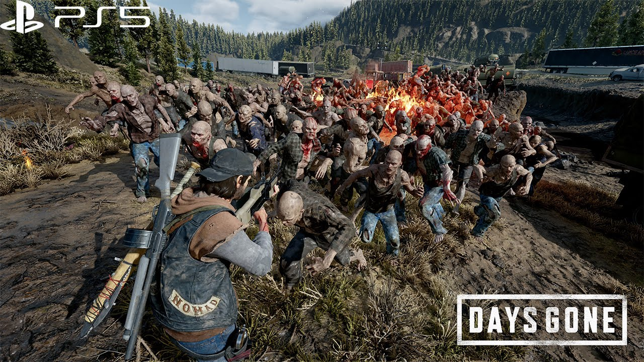 Days Gone: PS5 Gameplay - 4K 60FPS