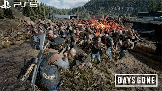 Days Gone PS5 Gameplay - 4K 60FPS