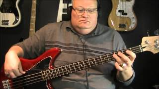 Cyndi Lauper Time After Time Bass Cover with Notes & Tablature