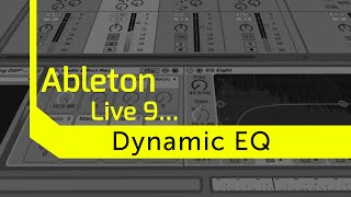 Separate Your Kick and Bass by Creating a Dynamic EQ in Ableton Live 9
