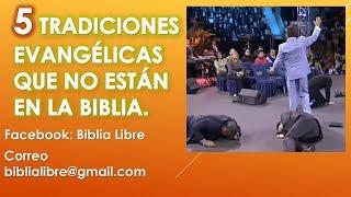 Baixar 5 Tradiciones evangelicas que no están en la Bíblia