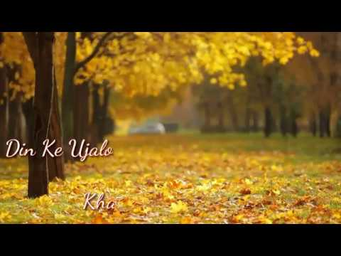Din Ke Ujalo🌞 Mein Khwaabon 😉Khayalon Mein Maine Tujhe Pal💑 Pal Dekha💓