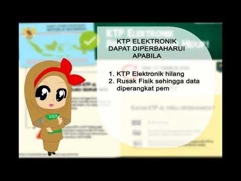 Informasi Kartu Tanda Penduduk ELektronik