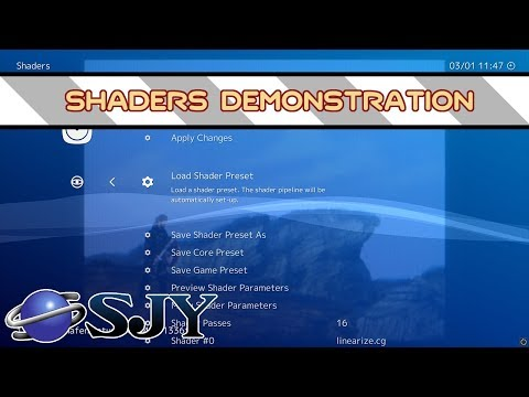 Shaders on Retroarch by The Saturn Junkyard