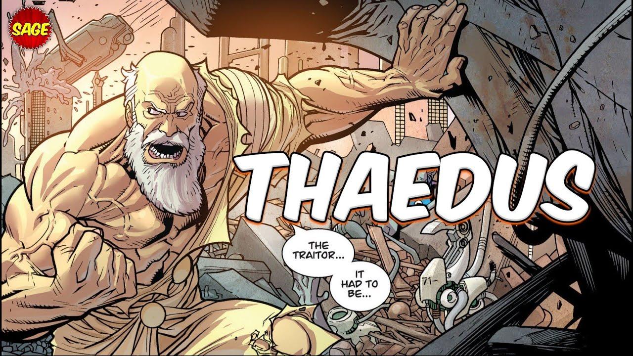 "Who is Image Comics' Thaedus? Viltrum's ""Great Betrayer"""