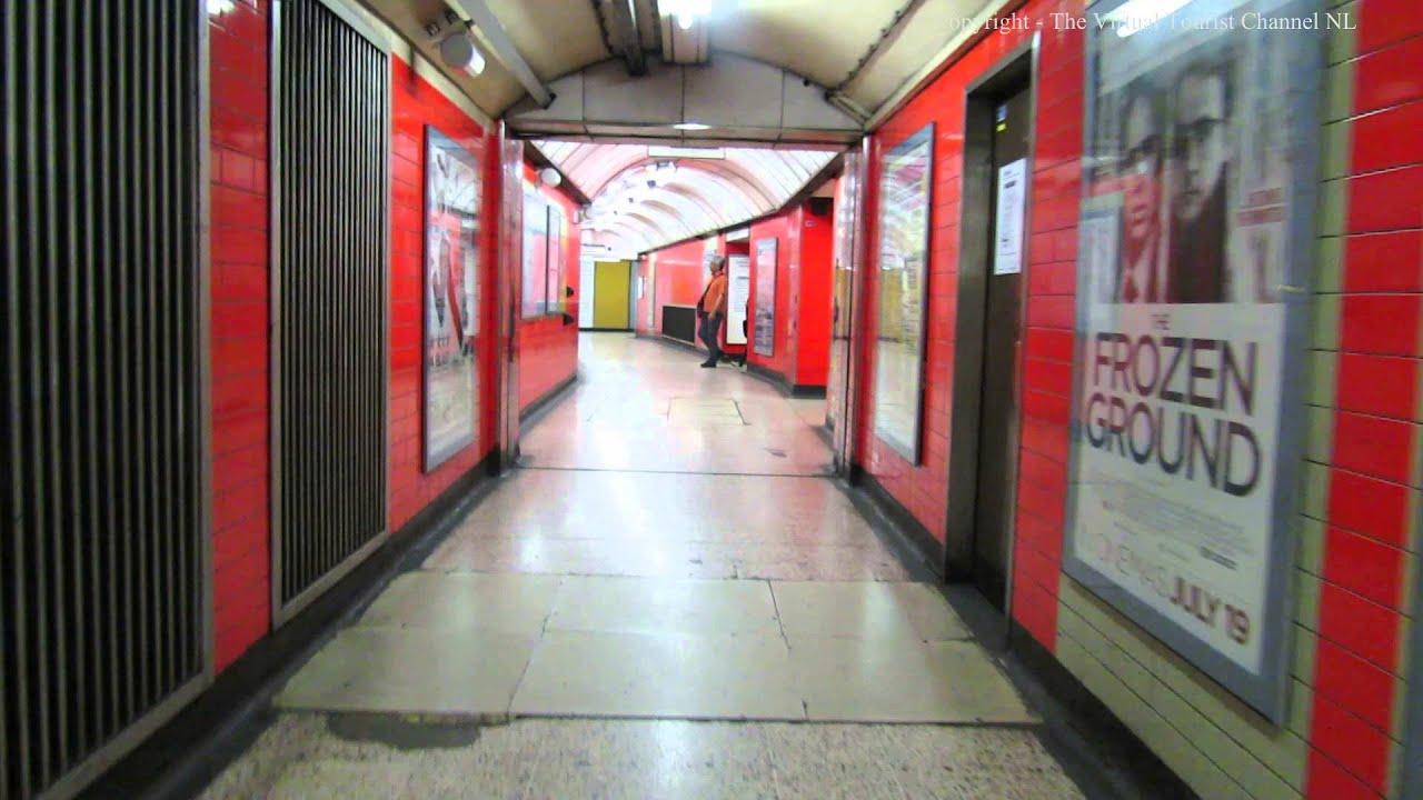 Walk Around Baker Street Tube Station in London - YouTube