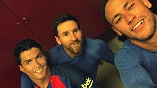 Cristiano Ronaldo, Neymar, Lionel Messi Training 2018