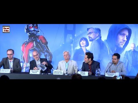 Ant-Man Full Press Conference With Peyton Reed, Michael Douglas, Paul Rudd & Michael Peña