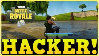 HACKER KILLED EVERYONE! - Fortnite: Battle Royale