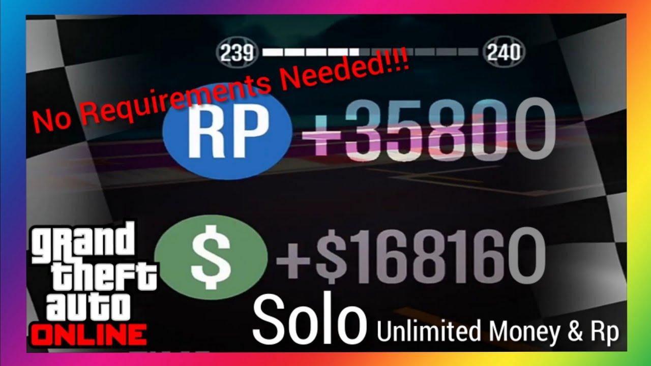 Everyone Do This SOLO GTA 5 Online Rp Glitch To Make You High Rank [GTA 5  Money Glitch]