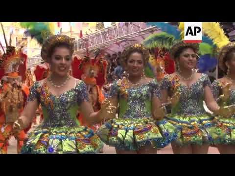 Thousands celebrate Bolivia's Oruro carnival
