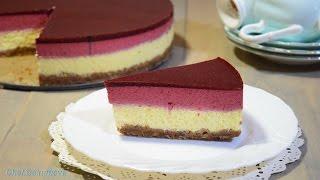 Чизкейк с чёрной смородиной / Currant cheesecake