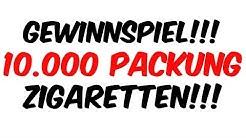 10.000 Packung Zigaretten Gewinnspiel!!! Lucky Strike Flow Filter Resized